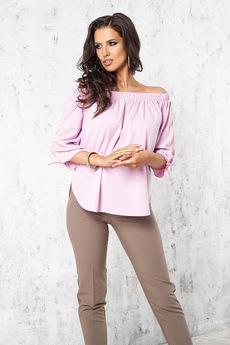 Розовая блузка Angela Ricci