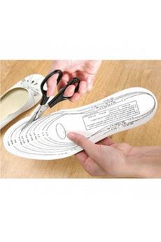 Стельки для обуви с памятью  «ЗДОРОВАЯ СТОПА» Bradex